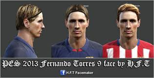 pes 2013 hairstyle new hair style fernando torres pes 2013
