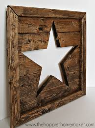 pottery barn inspired cut out wood the happier