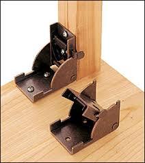 Table Leg Hardware Folding Leg Bracket Lee Valley Tools