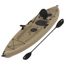 boats u0026 water sports walmart com lifetime 10 u0027 tamarack angler kayak with bonus paddle 90508