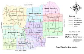 Illinois Map Of Cities by Menard County Il Highway Department
