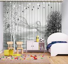 Black And White Bedroom Drapes White Room Black Curtains Promotion Shop For Promotional White