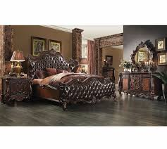 sale 5677 15 versailles traditional 5 pc bedroom set cherry