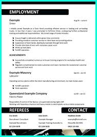 Delivery Driver Resume Example by Simple But Serious Mistake In Making Cdl Driver Resume