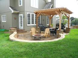 patio ideas backyard stone patio design ideas homemade backyard