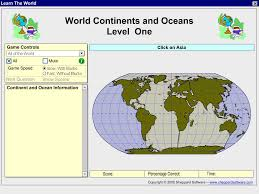 World Continents And Oceans Map by Maps World Map 7 Continents And Oceans
