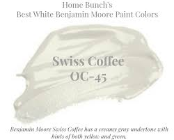best white paint colors by benjamin moore home bunch