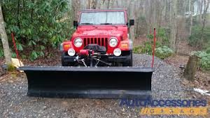 jeep wrangler snow tires snowbear plow snow bear snow plow snow plow for pickups