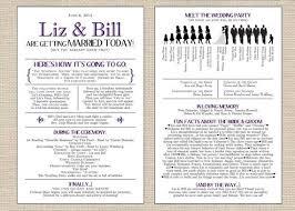 wedding program wording ideas best 25 wedding programs ideas on wedding programme