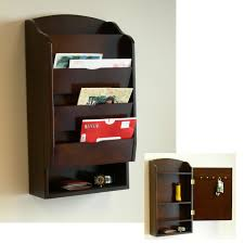 Key Storage Ideas Wall Mounted Mail Organizer A Best Storing Solution For Your