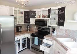 kitchen cabinets makeover ideas stunning livelovediy the chalkboard paint kitchen cabinet makeover