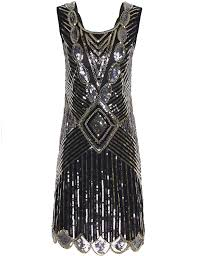 amazon com prettyguide women u0027s 1920s gatsby sequin art deco