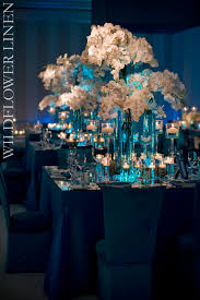 blue centerpieces the design series stunning centerpieces andré winfrye events