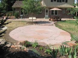 Backyard Flagstone Stonework And Hardscapes U2013 Glacier View Landscape And Design Inc