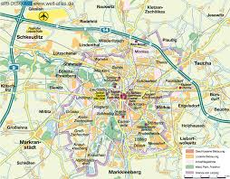 map of leipzig map of leipzig germany saxonia map in the atlas of the world