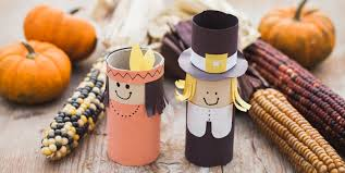 5 recycled thanksgiving crafts for