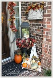 Fall Decorated Porches - fall porch decor oliviarink com oliviarink com pinterest