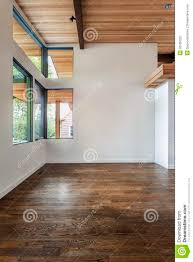 Rooms In A House Unfurnished Living Room In A Modern House Stock Photo Image