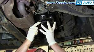 how to install replace oil pan nissan maxima altima 3 5l youtube