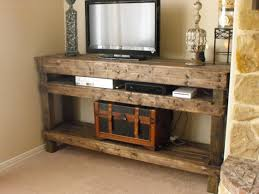 Rustic Tv Console Table Rustic Tv Console Http Www Etsy Listing 150914626 Tv