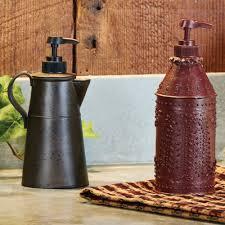 Lotion Dispenser Tin Coffee Pot Soap Lotion Dispenser Piper Classics