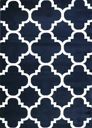 Modern Blue Rug Navy Blue Trellis Rug Moroccan Lattice Carpet Clearance Area