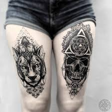 thigh tattoos best ideas gallery - Thigh Tattoos