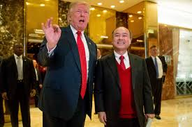 Trumps Hpuse In New York Trump Says Softbank Will Invest 50 Billion In The Us Aiming To