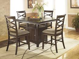 mrs wilkes dining room savannah bar stools wonderful high gloss finish brown wooden bar storage