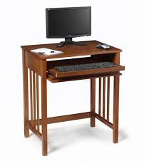 Computer Desk Small Small Wood Computer Desk Wooden Espresso
