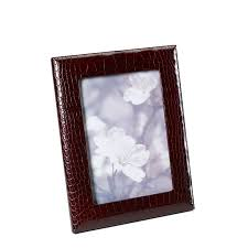 leather picture frames personalized leather photo frames