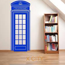 london telephone box uk scenery doctor who vehicle vinyl wall art