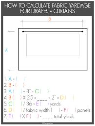 Roman Blind Measurement Calculator Calculating Curtain Fabric Memsaheb Net