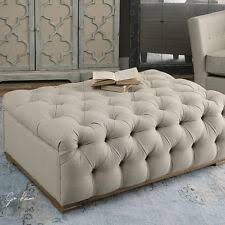 French Style Ottoman by French Country Ottomans Footstools U0026 Poufs Ebay