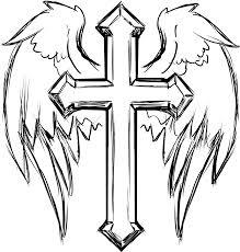 cross and wings bohemian necklace southwestern boho