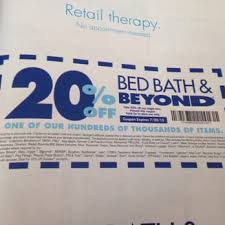 Coupon Bed Bath And Beyond 20 Off Bed Bath U0026 Beyond 24 Photos U0026 23 Reviews Department Stores