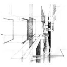 architecture design drawing sketch interior design