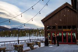 colorado mountain wedding venues venues we colorado winter weddings