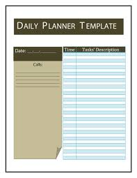 day planner templates daily planner word imvcorp 40 printable daily planner templates free template lab