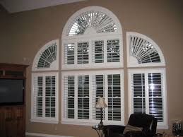 Circle Window Blinds Bedroom Great Arch Window Blinds Roselawnlutheran With Half Circle