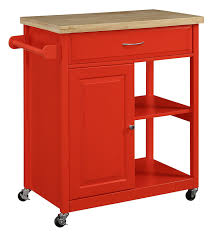 amazon com oliver and smith nashville collection mobile amazon com oliver and smith nashville collection mobile kitchen island cart on wheels red natural oak butcher block 30