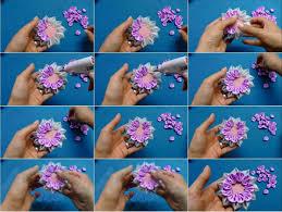 ribbon flowers ribbon flower usefuldiy