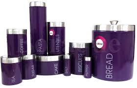 28 purple canisters for the kitchen purple enamel fine