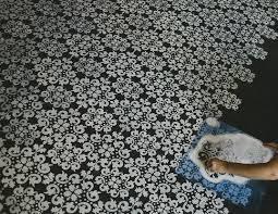 painting bathroom floor tiles to bring positive energy flooring