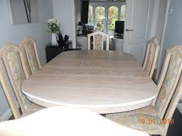 Limed Oak Kitchen Table Cousins Limed Oak Extendable Dining Table U0026 6 Chairs In Sandwell