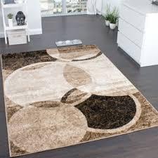 teppiche design designer teppich braun beige creme meliert design teppiche