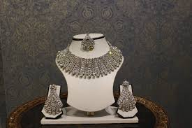 white crystal necklace images White crystal necklace chandan fashion jpg