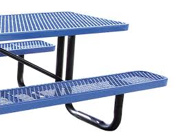 Expanded Metal Patio Furniture - standard expanded metal picnic table