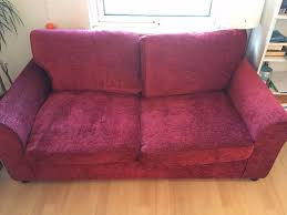 Folding Bed Argos Argos Home Tessa 2 Seater Fabric Sofa Bed Red In Islington