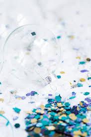 diy glitter confetti ornaments sweetest occasion